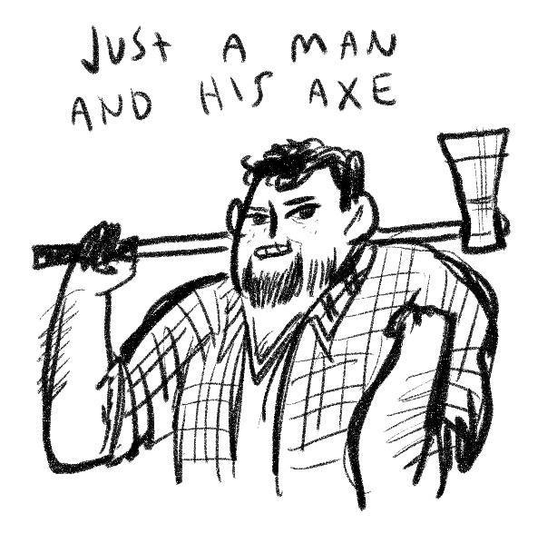 christopher butcher by Kate Beaton